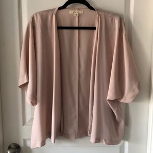 Blush Pink Kimono